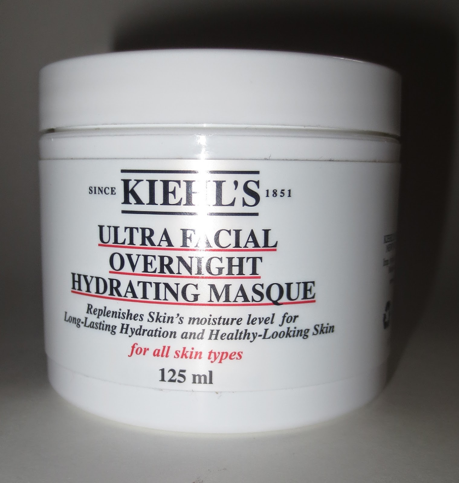 Kiehl's Ultra Facial Overnight Hydrating Masque Packaging