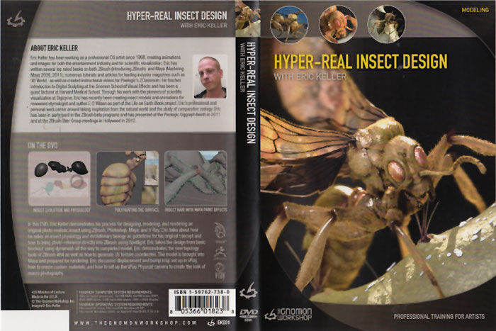 Hyper Real Insect Design with Eric Keller