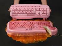 kue unik mirip keyboard
