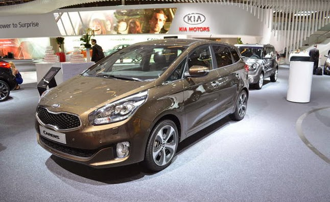 Kia Carens Review 2014