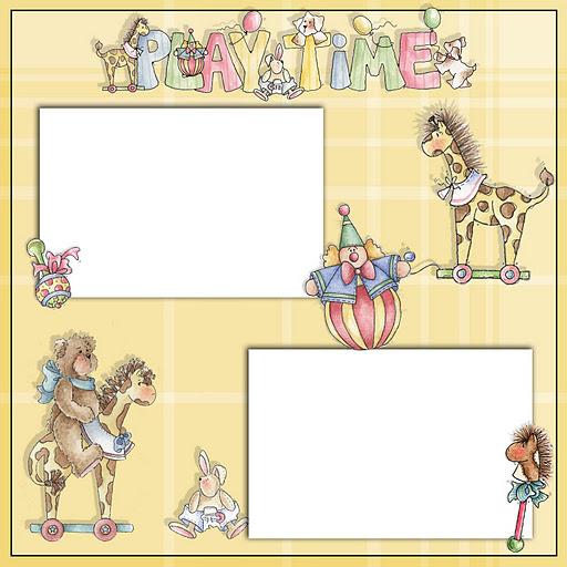 marcos infantiles para imprimir - Imagenes y dibujos para ...