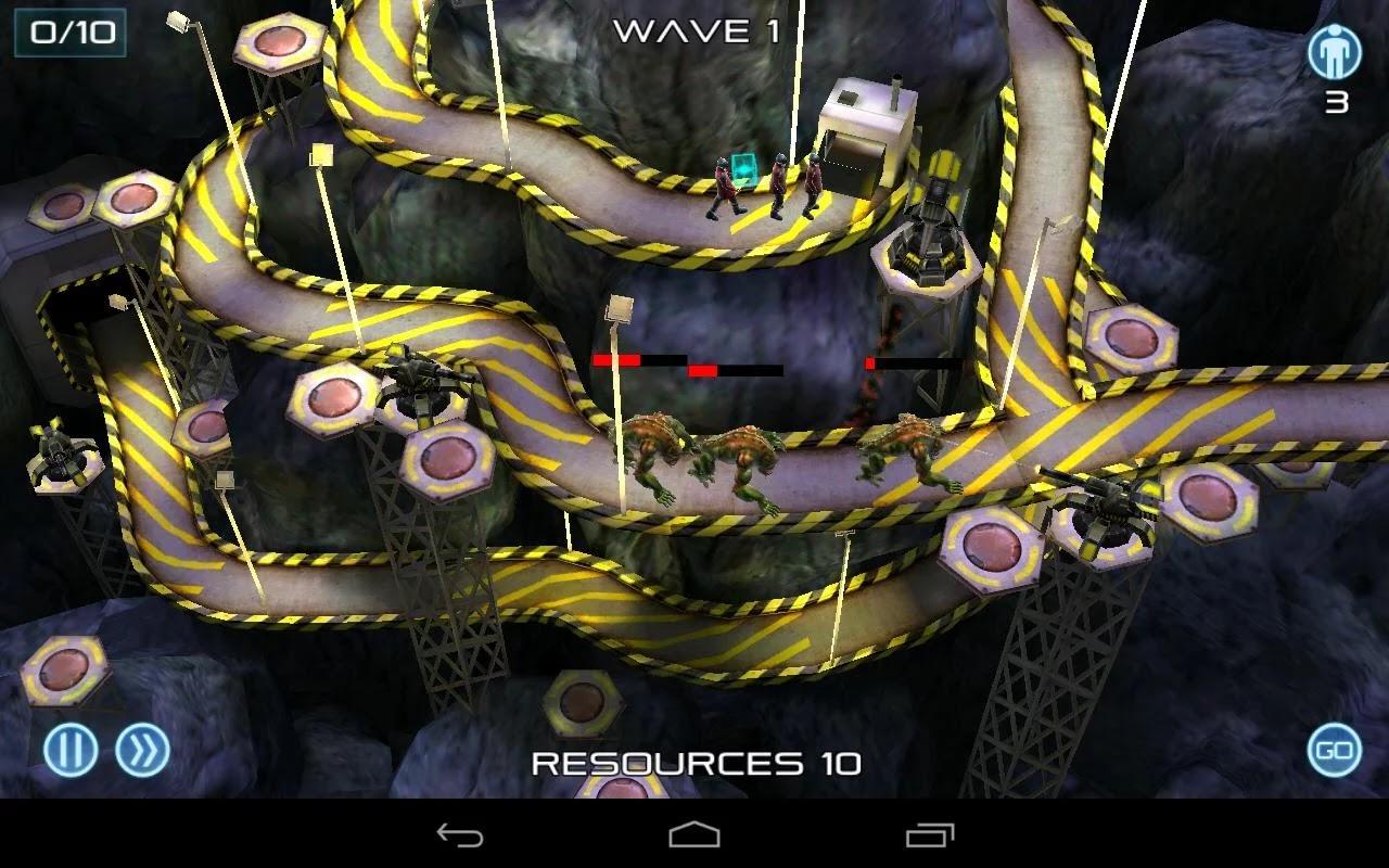 Android 3D játékok