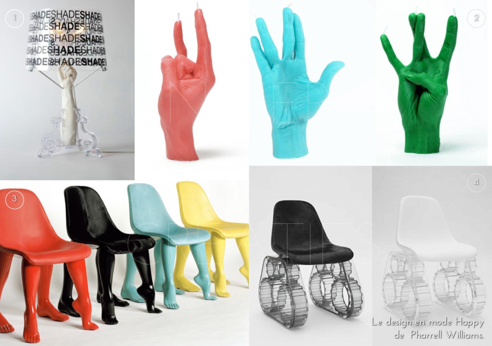Univers creatifs le design en mode happy de pharrell williams - Pharrell williams design ...