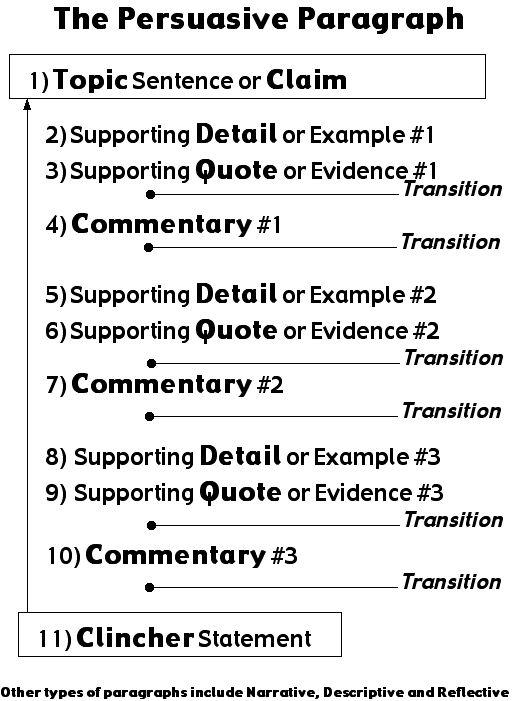 3 paragraph argument essay
