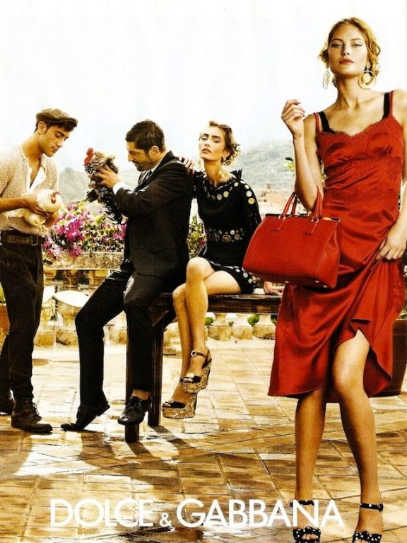 dolce gabbana spring summer 2014 ad campaign
