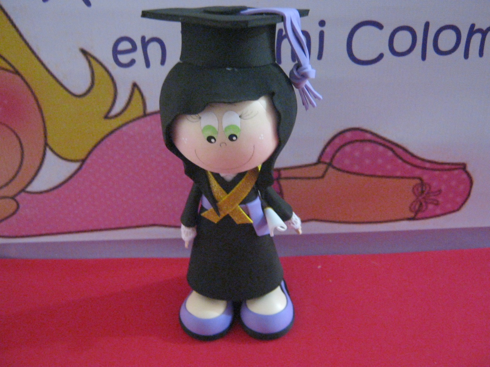 Moldes De Fofuchas Para Graduacion