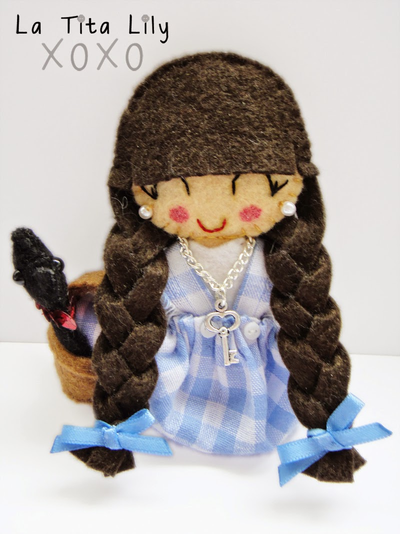 Broche fieltro Dorothy