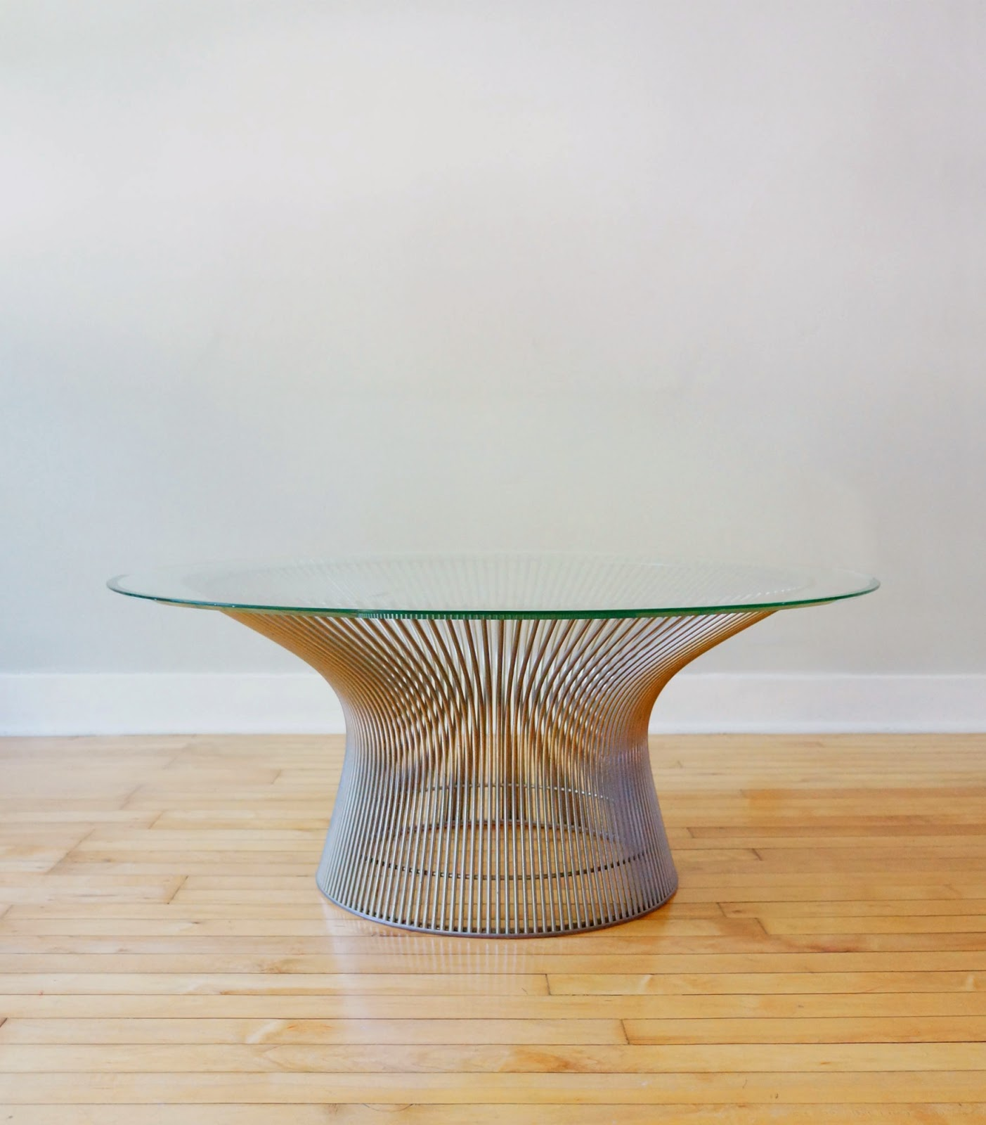 Str8mcm warren platner coffee table for Warren platner coffee table
