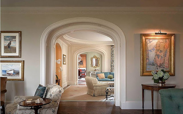 Foyer Sitting Area : Beatrice banks architectural arches