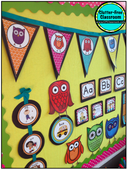 Free Classroom Decoration Ideas ~ Owls themed classroom ideas photos tips