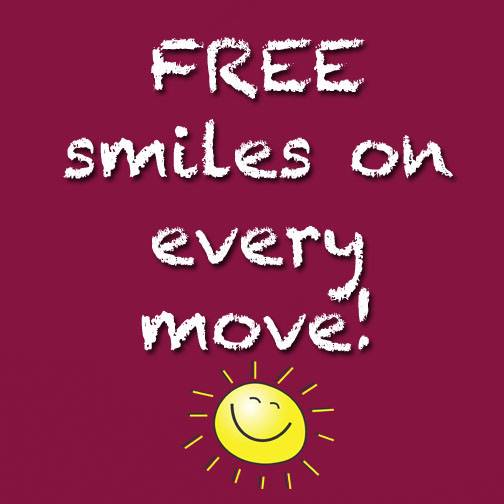 FREE smiles with 4 Friends Moving Boca Raton