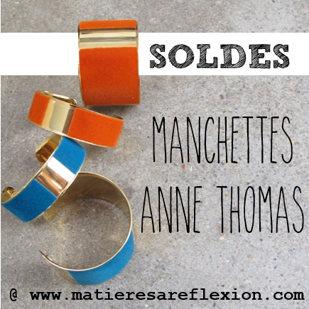 Manchettes Anne Thomas
