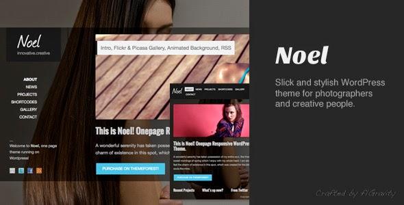 Noel v1.4 - Responsive Onepage WordPress Theme