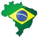 Brazil-Flag map