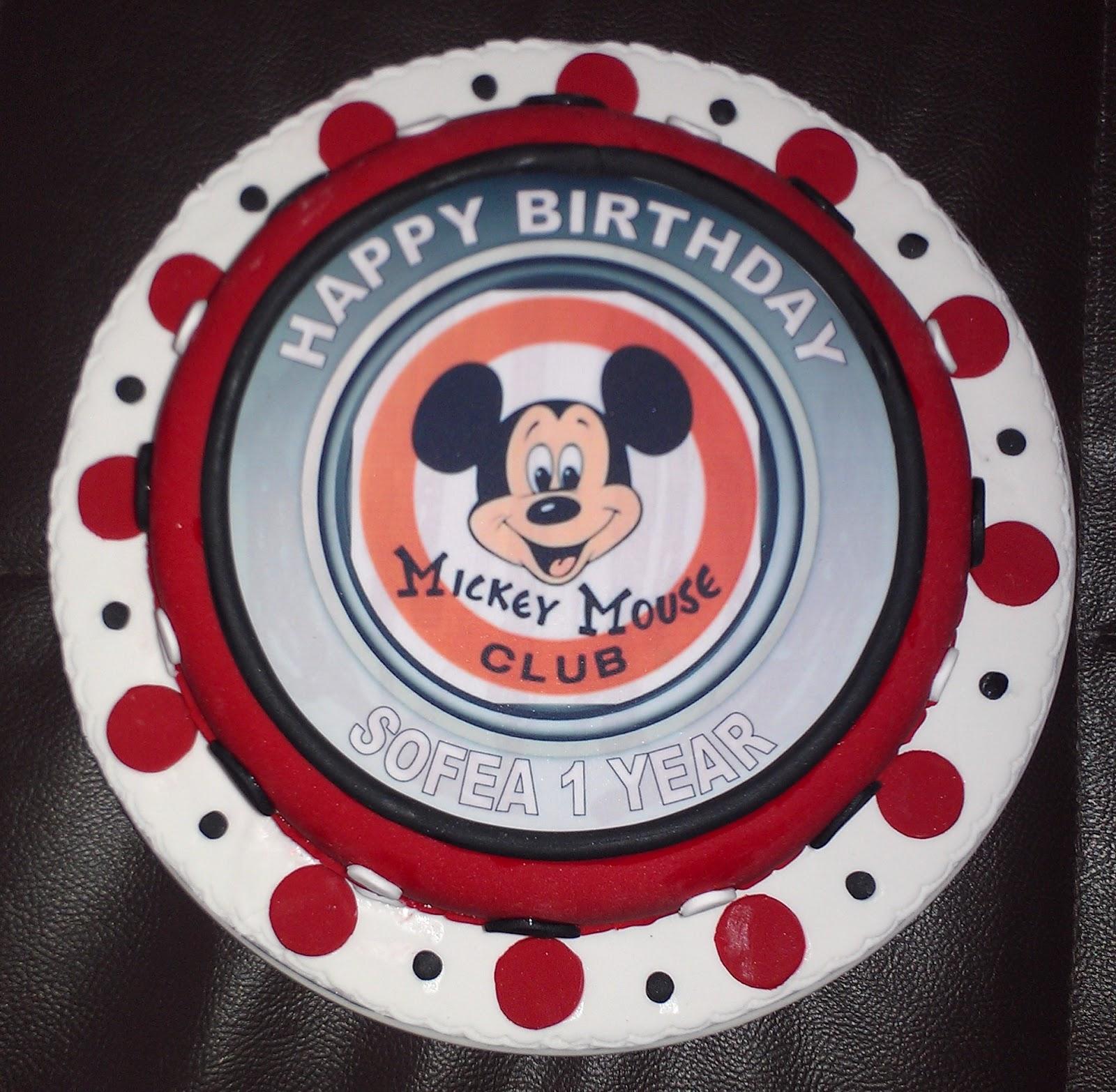 Cakes And Cupcakes Johor Bahru Dora Mickey Birthday Cakes