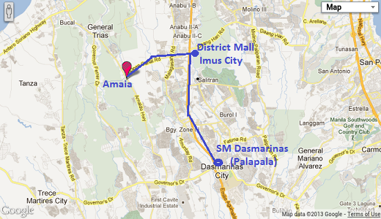 From SM Dasmarinas to District Mall Imus to Amaia Scapes Cavite