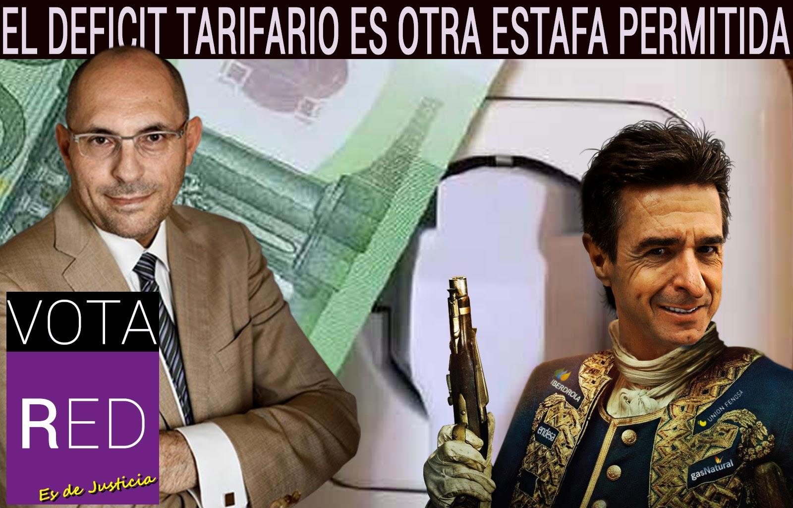 El deficit tarifario es otra estafa permitida, Elpidio Silva, Movimiento RED