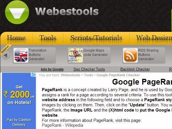 Google Webestools.com