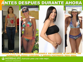 Testimonio de Utilizar el Programa Herbalife para Mujeres Embarazadas BieneSaludAlgoM.com