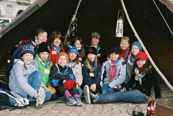 skutta-leirin yhteiskuva vuodelta 2007