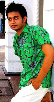 batik tulis madura laba laba hijau
