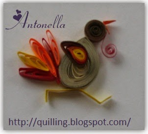 Free Quilled Quilling Turkey Pattern