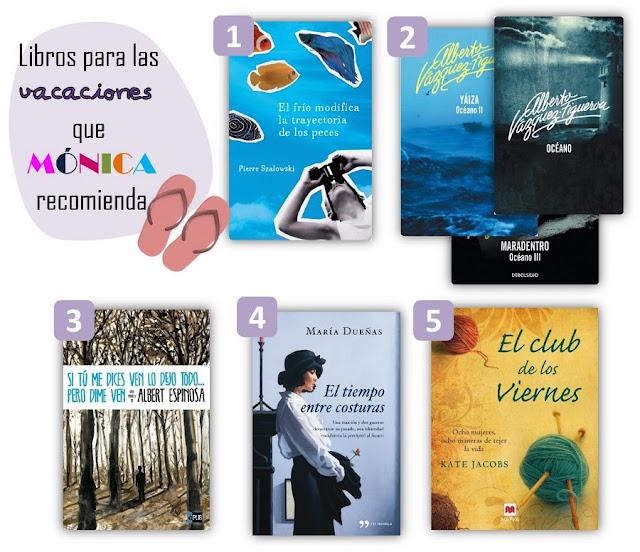 libros recomendados por mónica