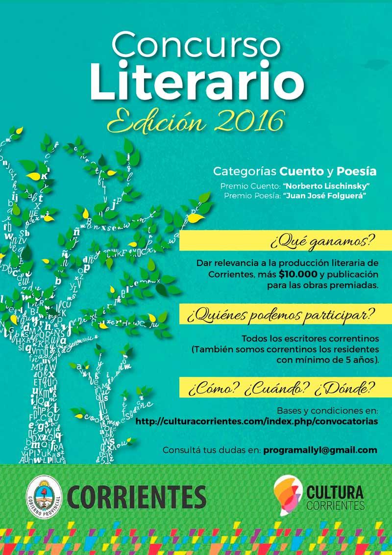 Corrientessomostodos concurso literario 2016 prorrogan for Convocatoria concurso docente 2016
