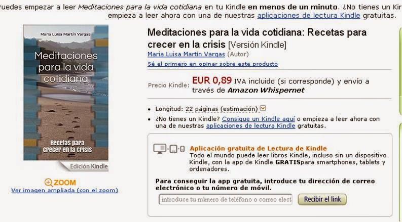 Libro en Kindle Amazon