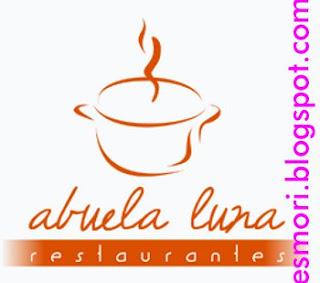 esmori: Logo Abuela Luna Restaurantes