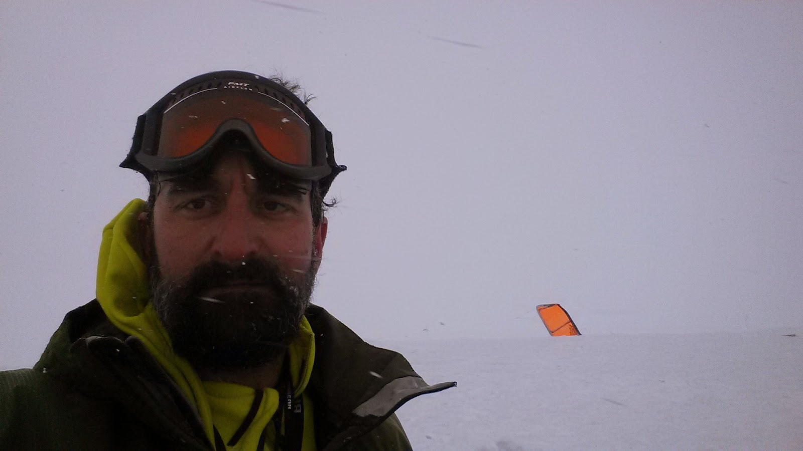Solo Snowkiting the Hardangarvidda in Norway after Red Bull Ragnarok