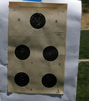 Rifle targets, 5 to a page that I used to check my zero
