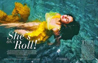 Andrea Jeremiah Bikini at JFW Magazine 2015 2