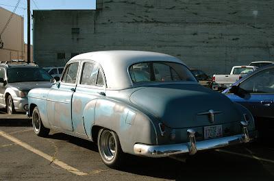 1950 Chevrolet Deluxe Sedan.