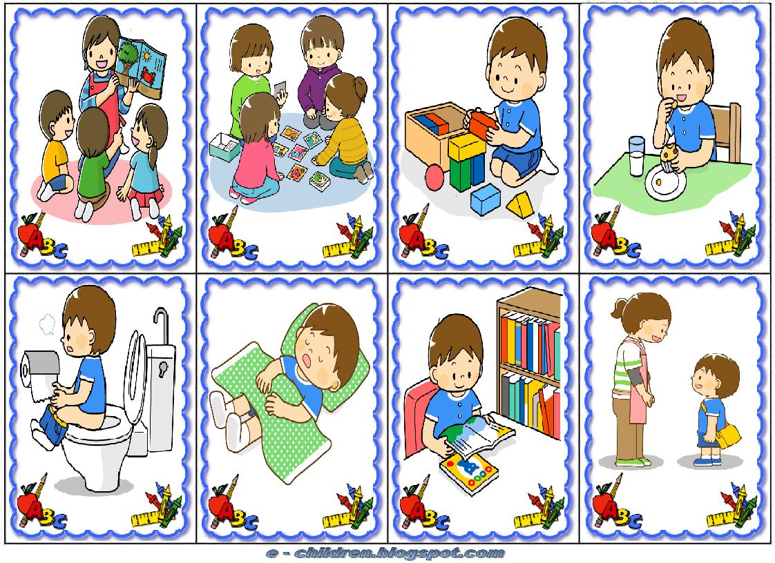 Los ni os for Grado superior de jardin de infancia