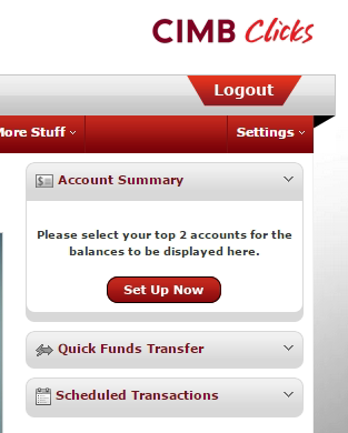 how to change username in cimb clicks
