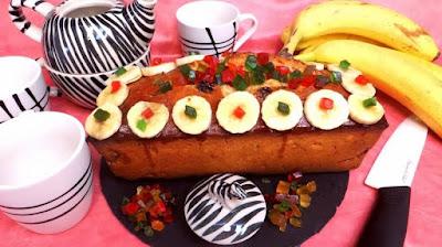 طريقة عمل كيكة الموز سهلة التحضير, كيكة الموز سهلة التحضير, كيكة الموز, الكيكة, موز