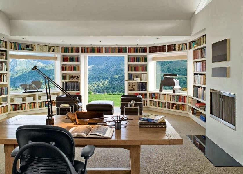 libreria design arredare casa : Case di Lusso: Arredare con le librerie