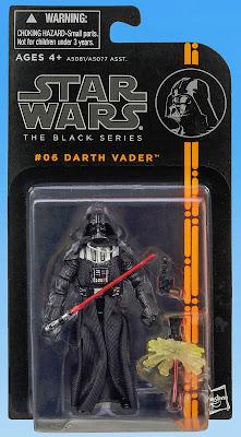 "Hasbro Star Wars The Black Series Darth Vader 3.75"" Figure"