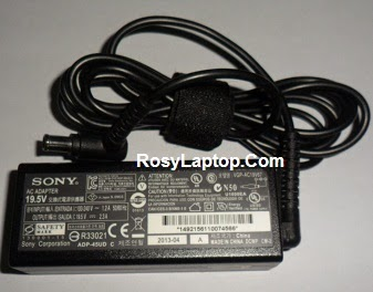 Charger/Adaptor Sony Vaio Original 19.5V 2.3A