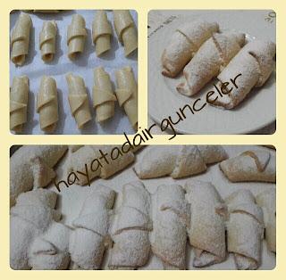 elmalı cevizli tarçınlı kurabiye