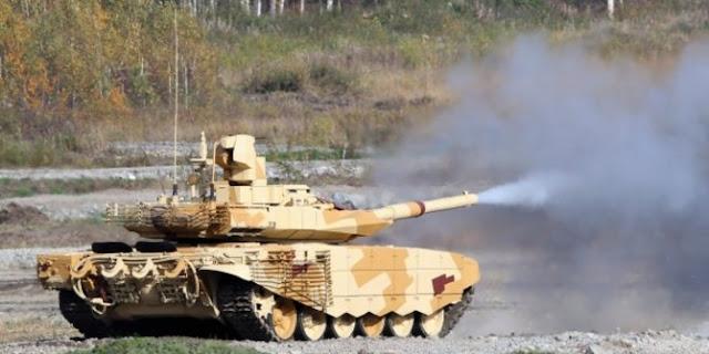 Kerahkan ratusan tank T-90