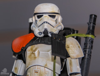 Hasbro Star Wars 2013 Toy Fair Display Pictures - The Black Series Sandtrooper figure