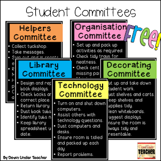 https://www.teacherspayteachers.com/Product/FREE-Student-Committees-2316852