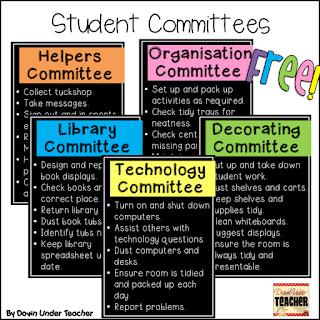 https://www.teacherspayteachers.com/Product/FREE-Student-Committees-2316852