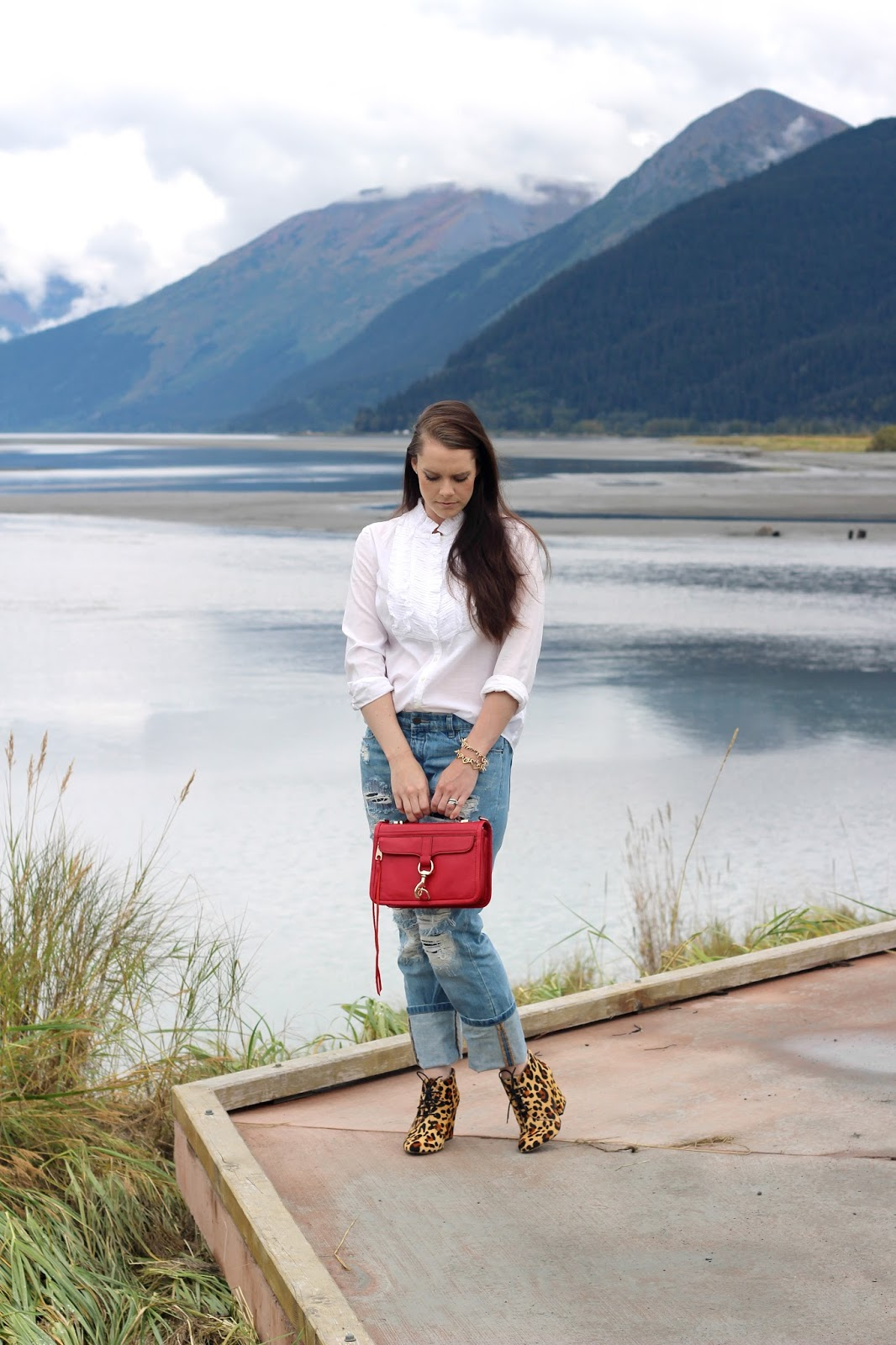 rebecca minkoff red purse