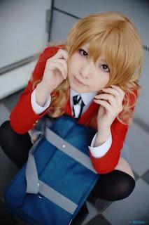 Naoki Shingu Cosplay as Aisaka Taiga from Toradora!