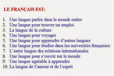 Une langue pour...