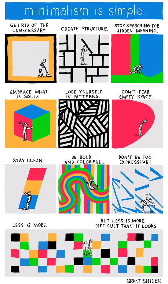 Incidental comics minimalism is simple for Simple minimalist lifestyle