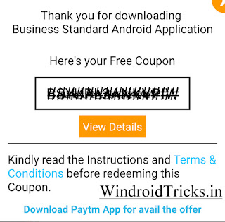 paytm cashback coupon